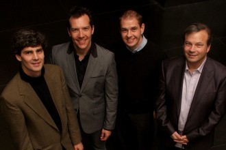 Photo of the Western Jazz Quartet.