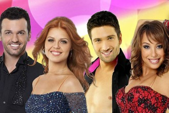 Photo of cast members from Dancing With the Stars.