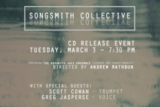 Songsmith Collective CD release poster.