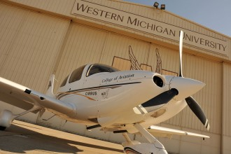 Photo of WMU's College of Aviation.