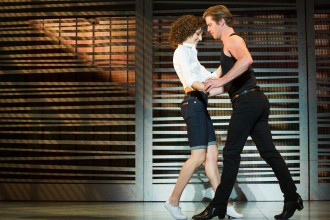 Photo of cast members in Dirty Dancing—The Classic Story on Stage.