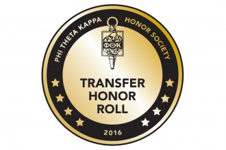 Phi Theta Kappa Transfer Honor Roll logo.