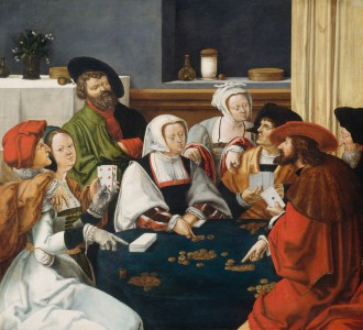 The Card Players, after Lucas van Leyden, c. 1550/1599, National Gallery of Art