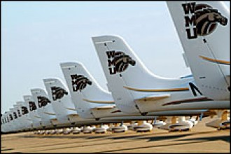 Photo of WMU College of Aviation aircraft.