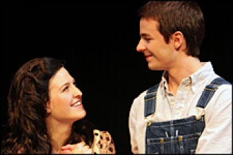 Photo of WMU production of 'The Tender Land.'