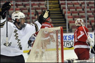 Photo of WMU hockey .