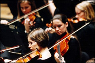 Photo of WMU Symphony Orchestra.