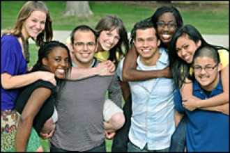 Photo of WMU students.