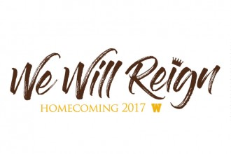 WMU Homecoming 2017 logo, We Will Reign.