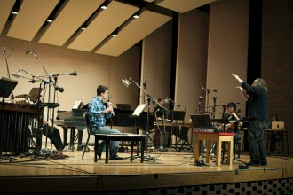 Photo of WMU's new-music ensemble Birds on a Wire