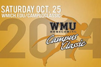 WMU's 16th annual Homecoming Campus Classic race is Oct. 25.
