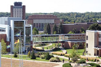 Photo of WMU campus.