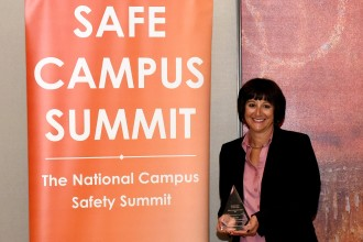 WMU Deputy Chief Carol Dedow at the Safe Campus Summit.