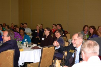 Image of an APA awards luncheon.