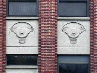 Bas-reliefs from the Brink Building