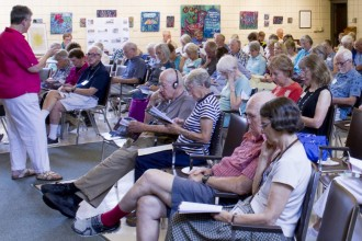 Photo of Osher Lifelong Learning Institute event.