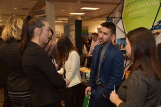 what to do at career fairs