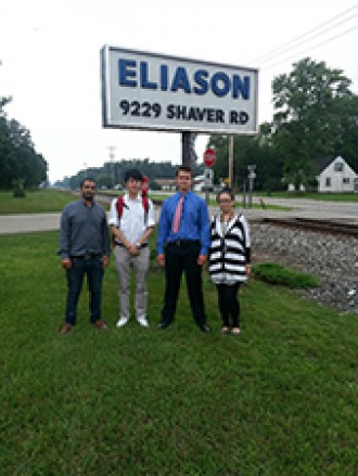 Photo of Eliason project team