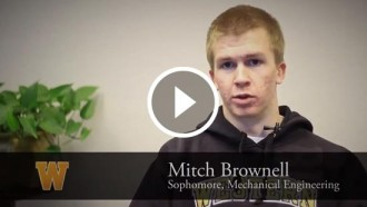Video still of Mitch Brownell's interview.