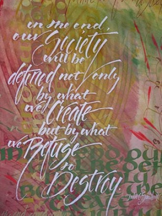 Artwork from On Healing… Body, mind, spirit, our world.