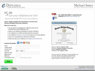 eDiploma now available to new graduates