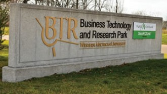 Business Technology Research Park sign