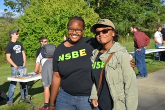 NSBE student society members