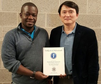 Richard Atta Boateng and Dr. Jun-Seok Oh