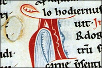 Photo Medieval manuscript.