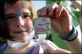 Photo of a Girls on the Run participant.