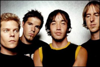 Photo of Hoobastank.