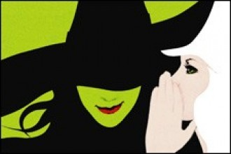 Artwork from Broadway musical Wicked.