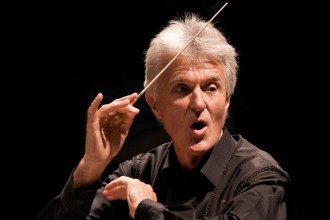 Photo of guest conductor .