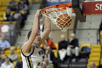 Photo of WMU men's basketball player.