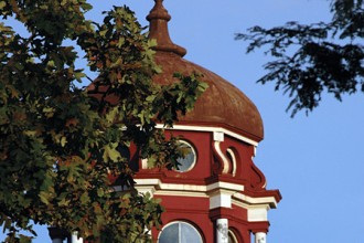 Photo of WMU's East Hall cupola.