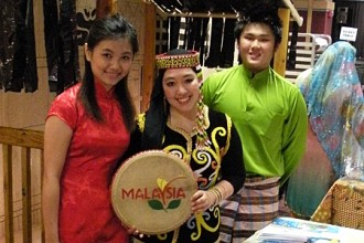 Photo of WMU International Festival.