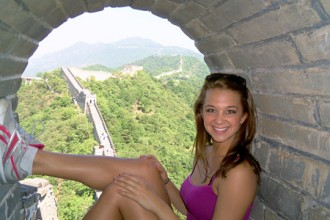 Photo of WMU student abroad.