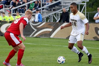Photo of WMU soccer player Brandon Bye.
