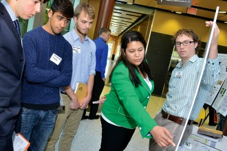 Photo of WMU Innovation Day participants.