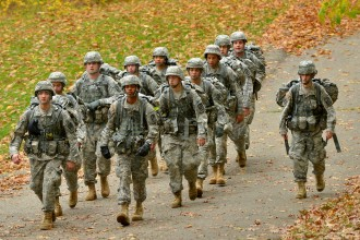 Photo of WMU ROTC cadets.
