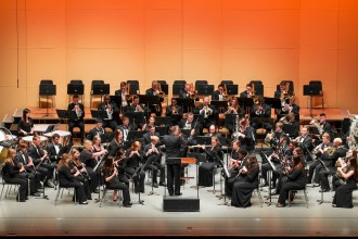 Photo of WMU Symphonic Band.