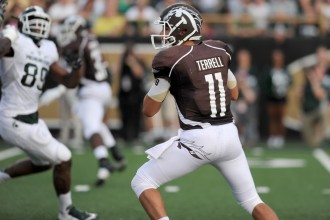 Photo of WMU quarterback Zach Terrell.