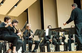 Photo of WMU student musicians.
