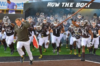 Photo of WMU football Broncos.