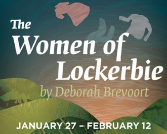 The Women of Lockerbie at WMU Theatre graphic.