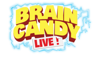 Brain Candy Live logo.