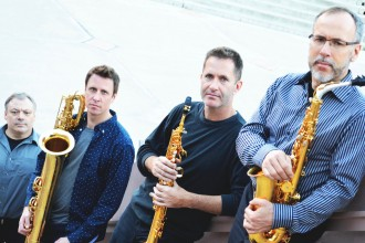 Photo of Capitol Quartet.