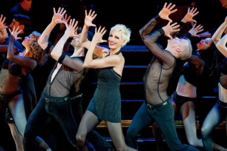 Photo of Amra-Faye Wright as Velma Kelly in Chicago.
