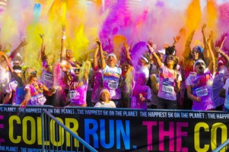 Photo from the Color Run.