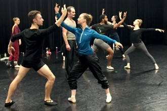 Photo of WMU dance students.